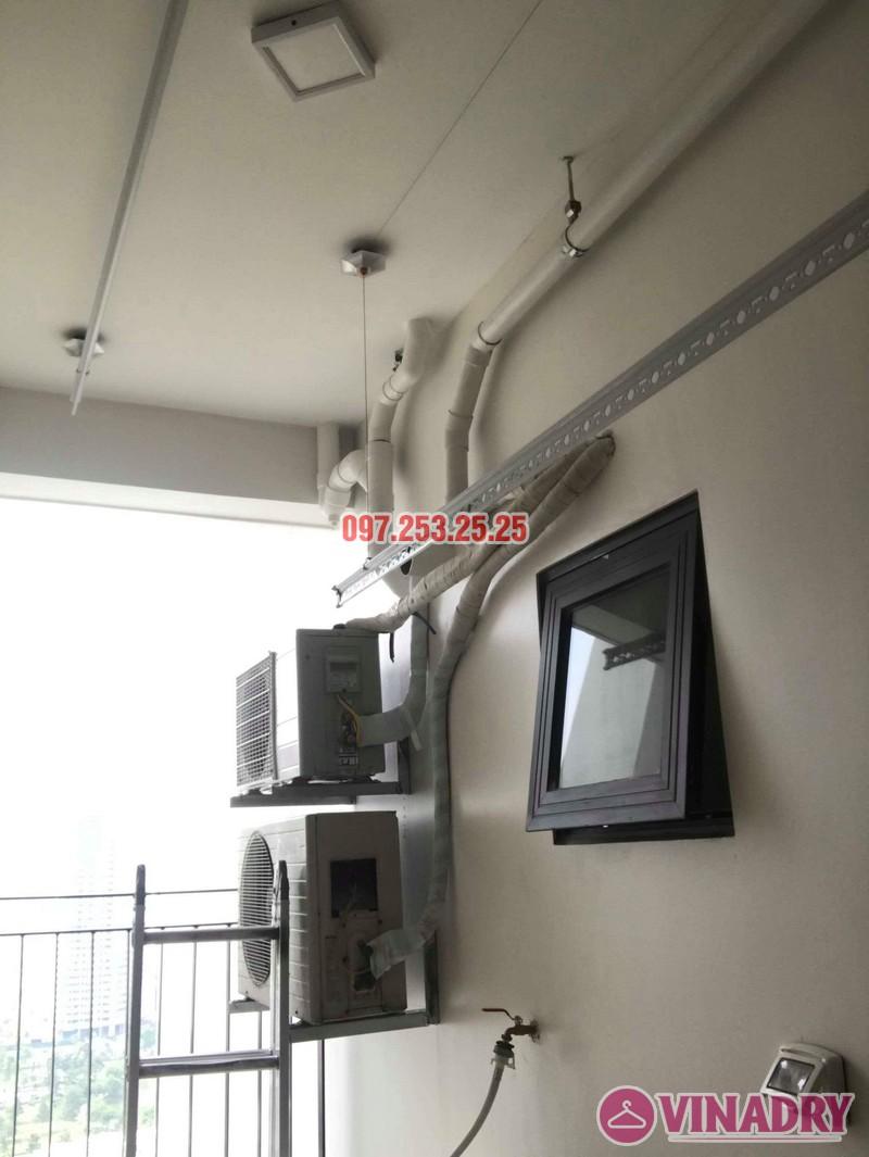 Lắp giàn phơi Hòa Phát KS990 nhà chị Ban, chung cư 789 Bộ Quốc Phòng - 02