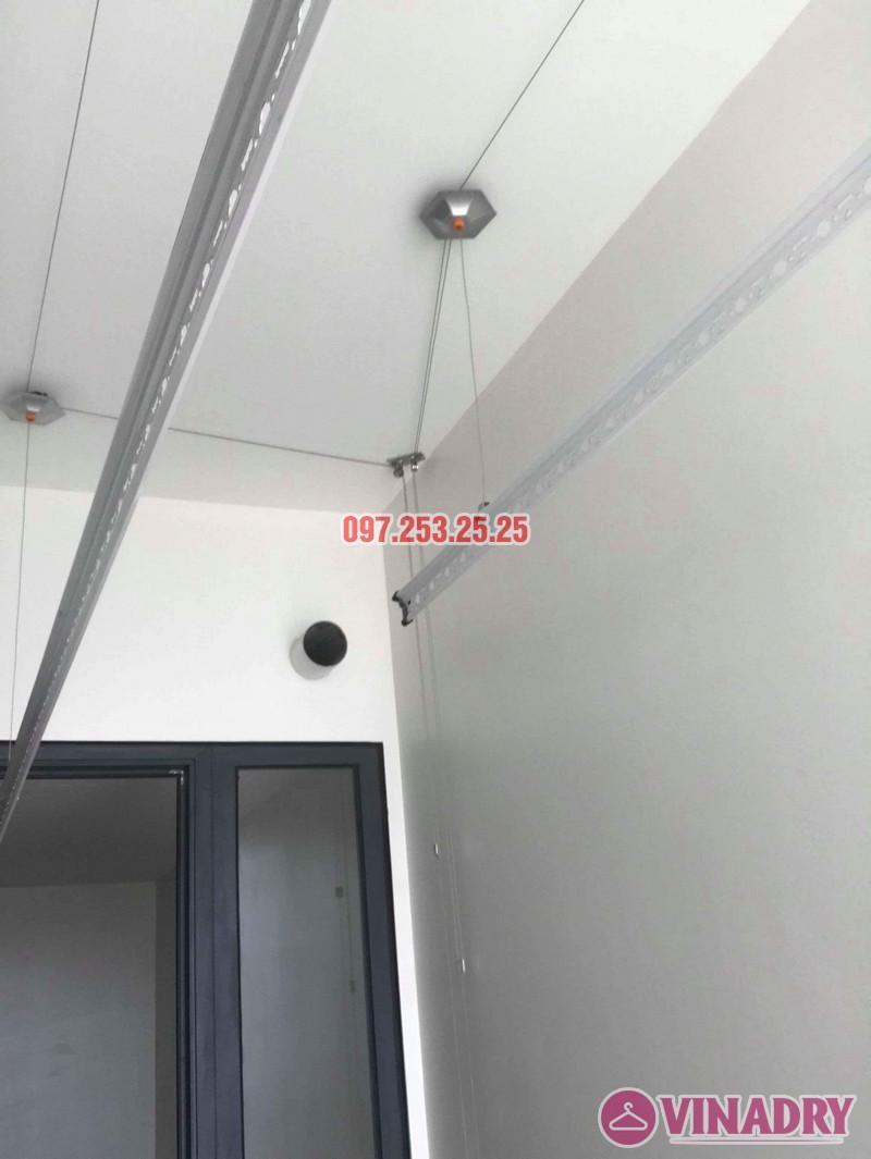 Lắp giàn phơi Hòa Phát KS990 nhà chị Ban, chung cư 789 Bộ Quốc Phòng - 04