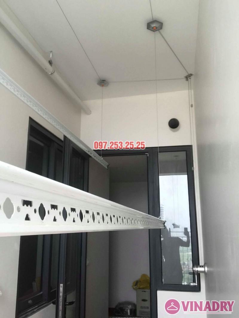 Lắp giàn phơi Hòa Phát KS990 nhà chị Ban, chung cư 789 Bộ Quốc Phòng - 06