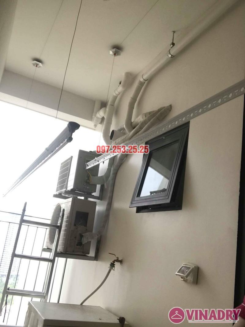 Lắp giàn phơi Hòa Phát KS990 nhà chị Ban, chung cư 789 Bộ Quốc Phòng - 07