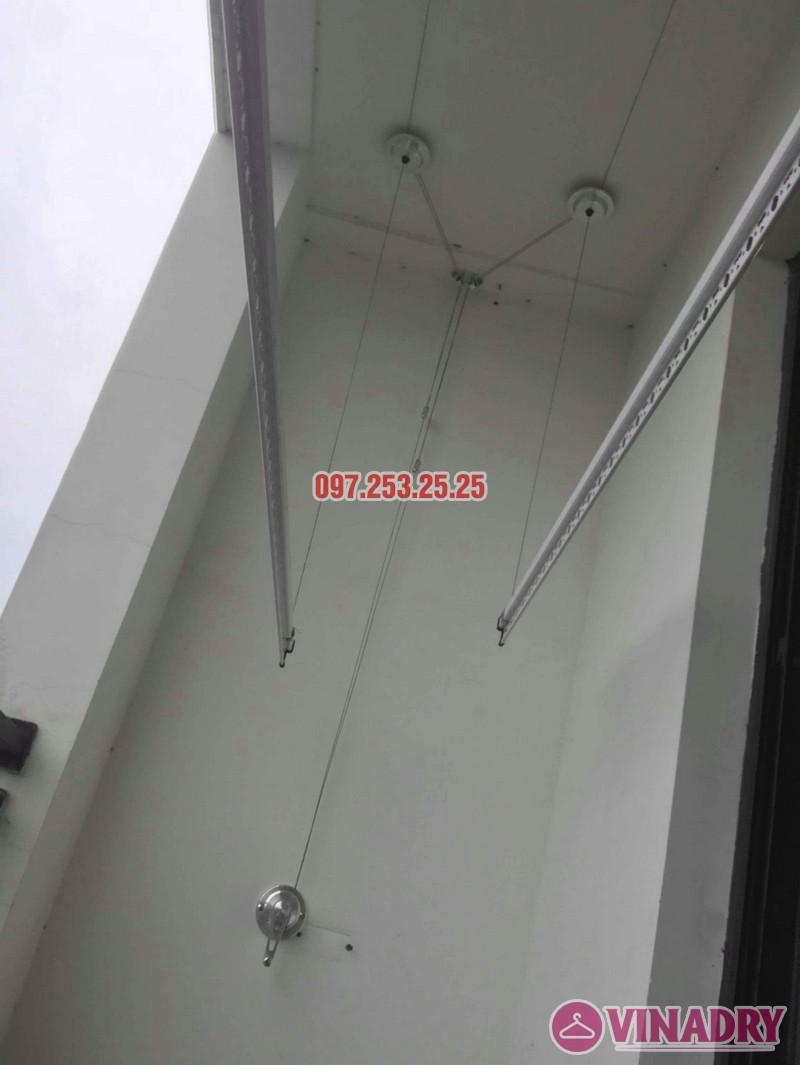 Lắp giàn phơi thông minh tại Royal City nhà Chị Tín, Tòa R6 - 01