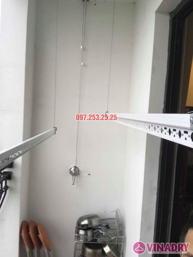 Lắp giàn phơi thông minh tại Royal City nhà Chị Tín, Tòa R6 - 02