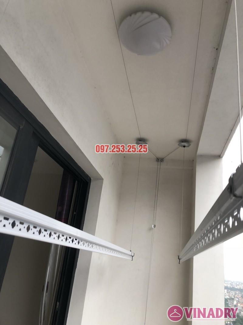 Lắp giàn phơi quần áo tại Times City nhà anh Hữu, căn 2202 tòa T9 - 06
