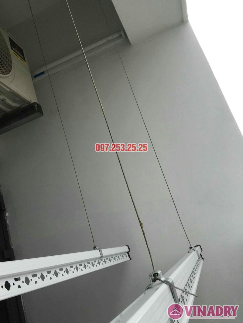 Lắp giàn phơi thông minh 999b nhà chị Dao, chung cư Valencia Garden Long Biên - 01
