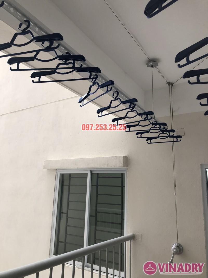 Lắp giàn phơi Hòa Phát Star KS950 nhà anh Mạnh, căn 1817 CT2 Yên Nghĩa, Hà Đông - 01