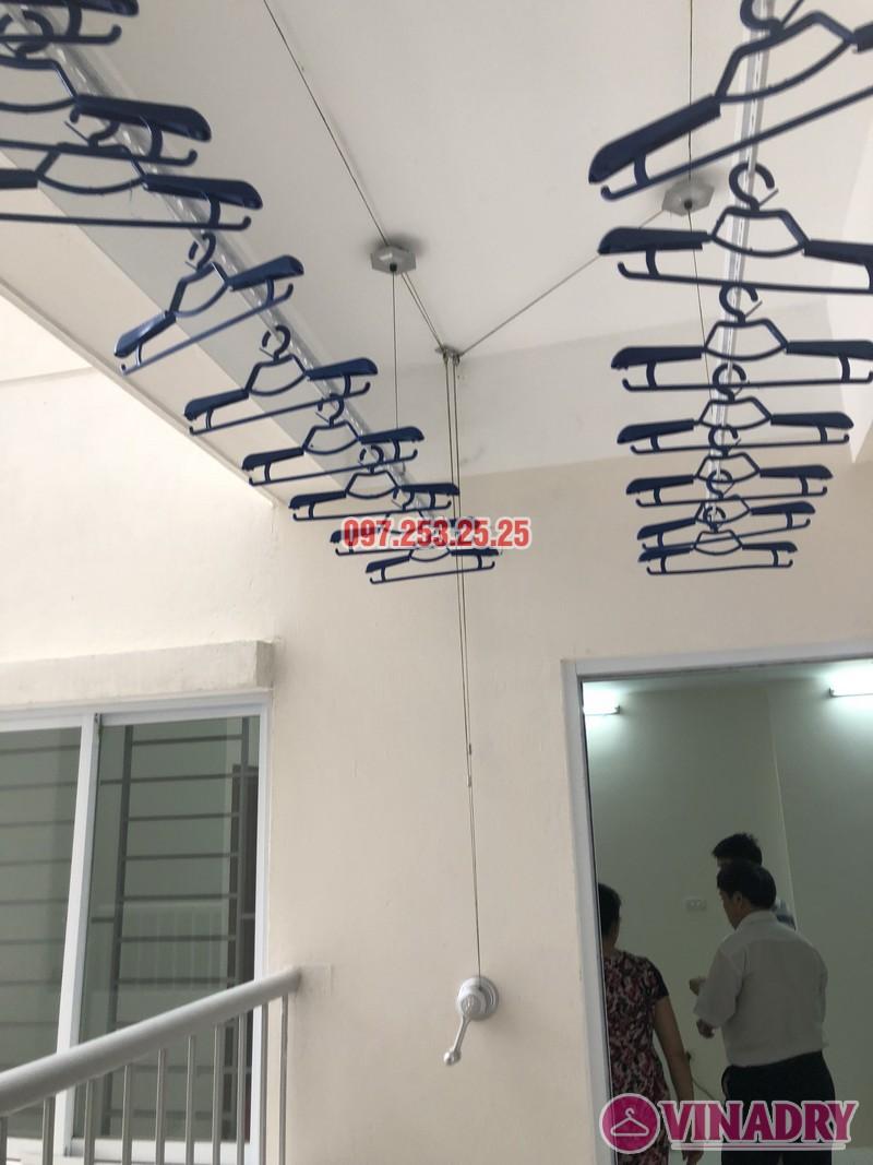 Lắp giàn phơi Hòa Phát Star KS950 nhà anh Mạnh, căn 1817 CT2 Yên Nghĩa, Hà Đông - 02