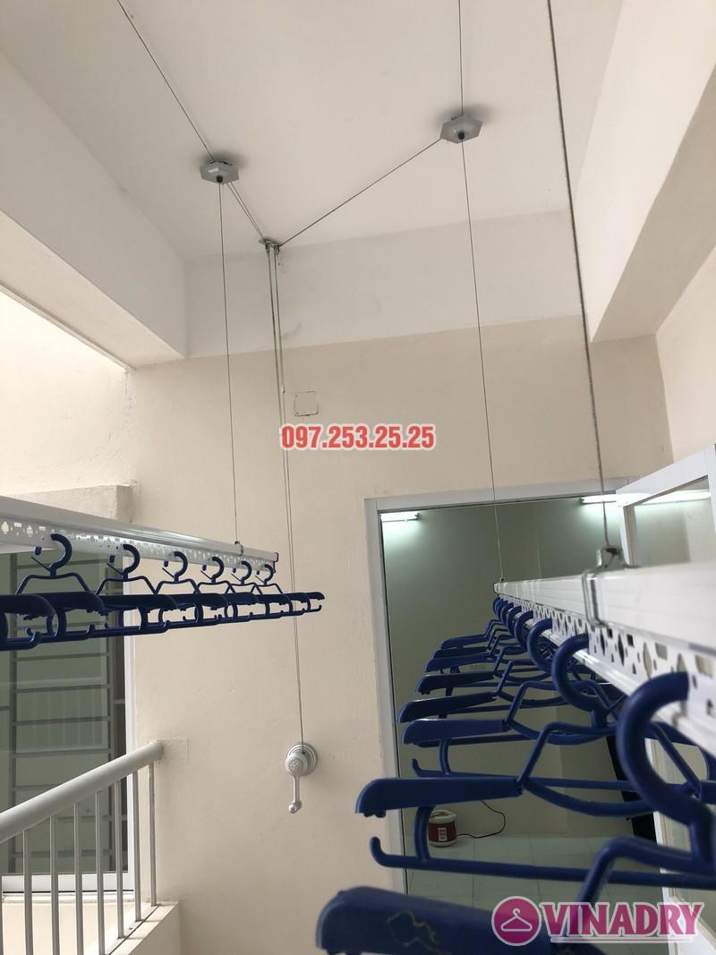Lắp giàn phơi Hòa Phát Star KS950 nhà anh Mạnh, căn 1817 CT2 Yên Nghĩa, Hà Đông - 06
