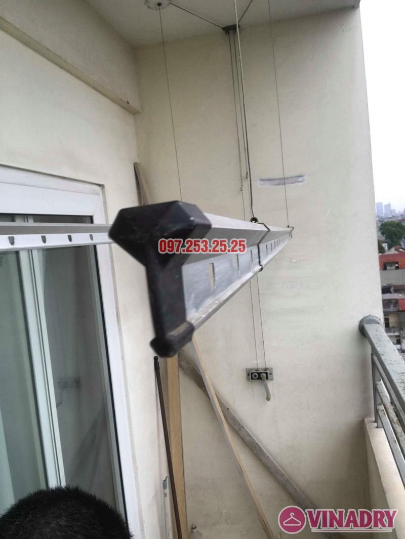 Thay dây cáp giàn phơi thông minh nhà chị Bảo, chung cư CT1 Nam Đô Complex - 04