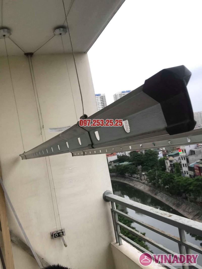Thay dây cáp giàn phơi thông minh nhà chị Bảo, chung cư CT1 Nam Đô Complex - 05