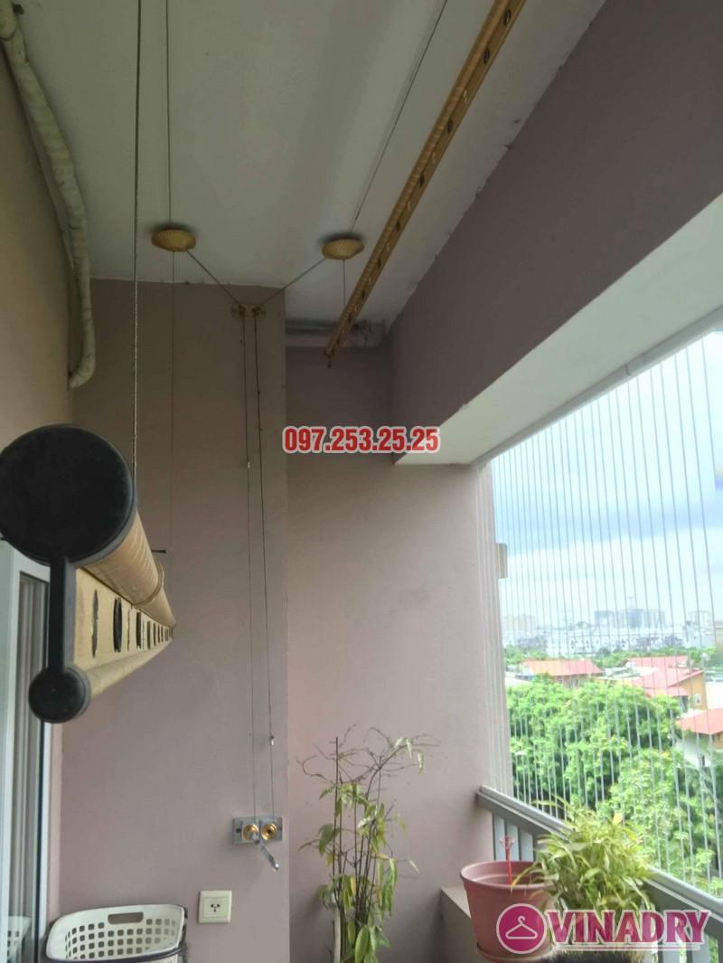 Sửa giàn phơi thông minh giá rẻ tại Long Biên nhà chị Hậu, chung cư Green House Việt Hưng - 03