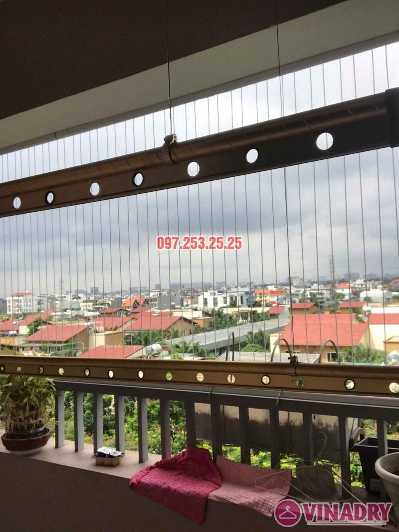 Sửa giàn phơi thông minh giá rẻ tại Long Biên nhà chị Hậu, chung cư Green House Việt Hưng - 06