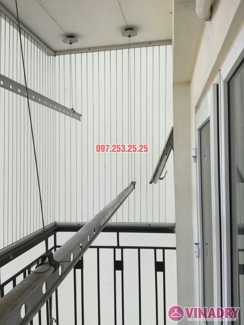 Sửa giàn phơi giá rẻ quận Long Biên nhà chị Hậu, Tòa HH2A Gia Thụy, 562 Nguyễn Văn Cừ - 02