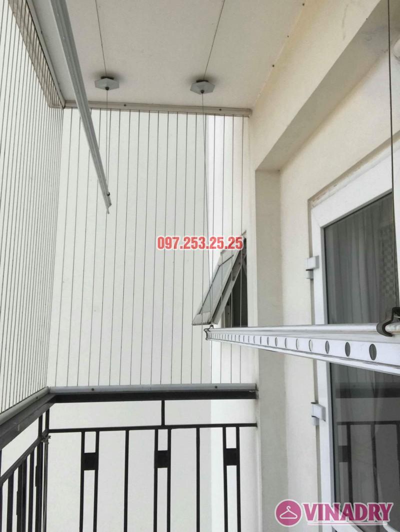 Sửa giàn phơi giá rẻ quận Long Biên nhà chị Hậu, Tòa HH2A Gia Thụy, 562 Nguyễn Văn Cừ - 05