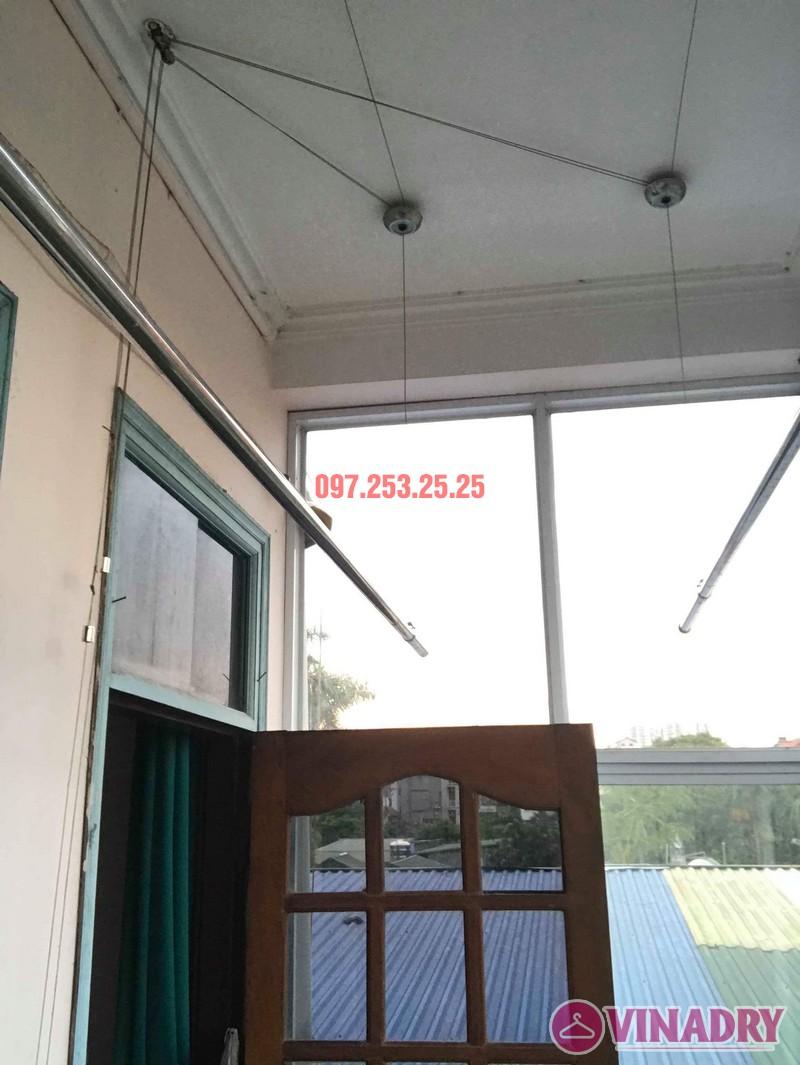Sửa giàn phơi thông minh quận Tây Hồ nhà chú Thịnh, chung cư Tây Hồ Residence - 03