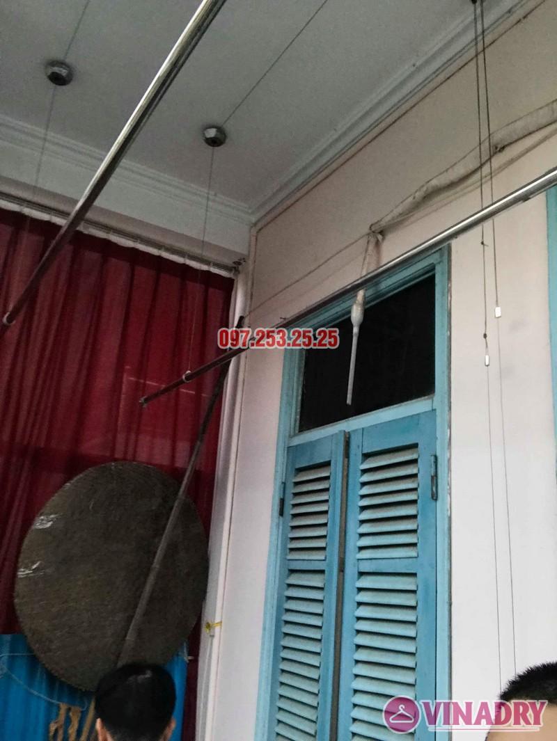 Sửa giàn phơi thông minh quận Tây Hồ nhà chú Thịnh, chung cư Tây Hồ Residence - 05