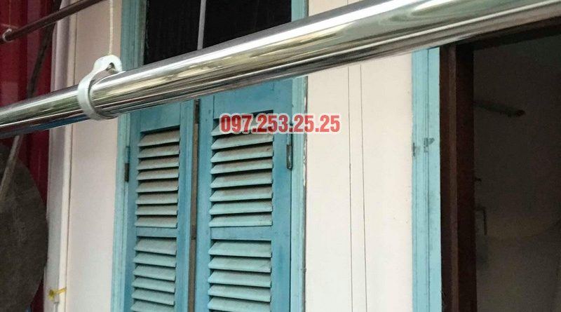 Sửa giàn phơi thông minh quận Tây Hồ nhà chú Thịnh, chung cư Tây Hồ Residence - 07