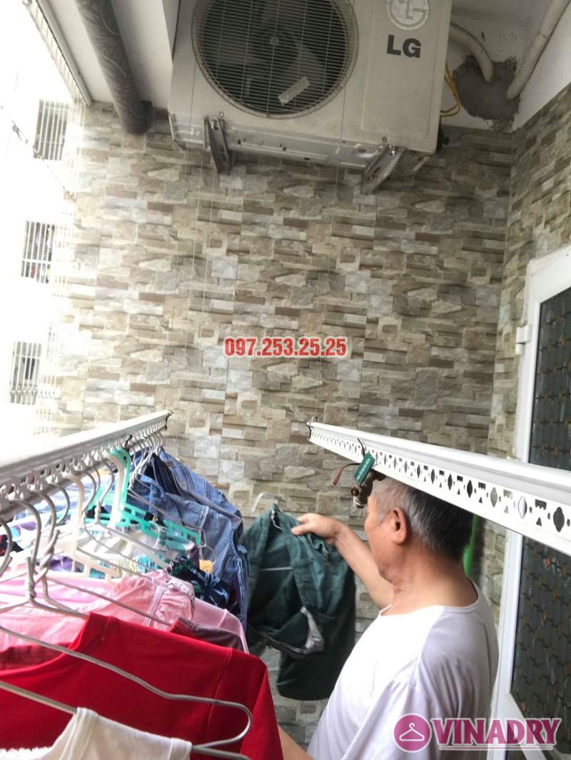 Sửa giàn phơi quần áo nhà chú Thịnh, Mạc Thái Tổ, Cầu Giấy, Hà Nội - 02