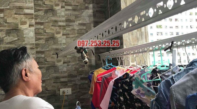 Sửa giàn phơi quần áo nhà chú Thịnh, Mạc Thái Tổ, Cầu Giấy, Hà Nội - 03
