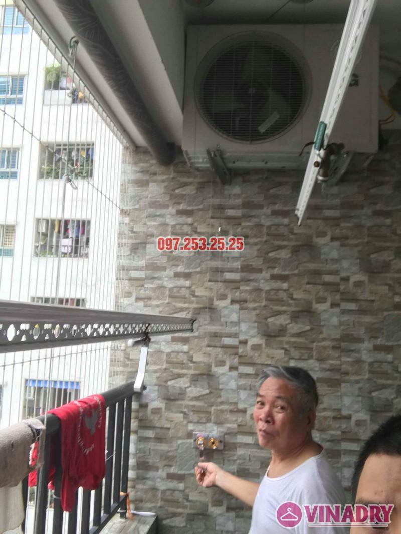 Sửa giàn phơi quần áo nhà chú Thịnh, Mạc Thái Tổ, Cầu Giấy, Hà Nội - 06