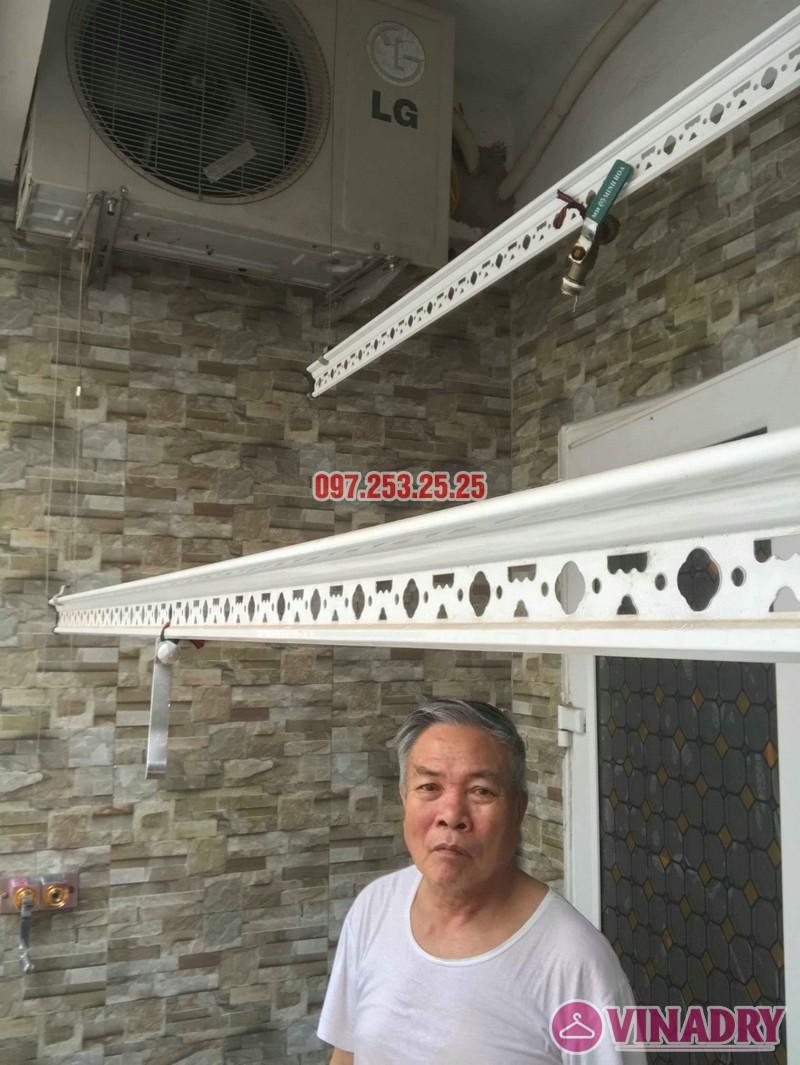 Sửa giàn phơi quần áo nhà chú Thịnh, Mạc Thái Tổ, Cầu Giấy, Hà Nội - 07