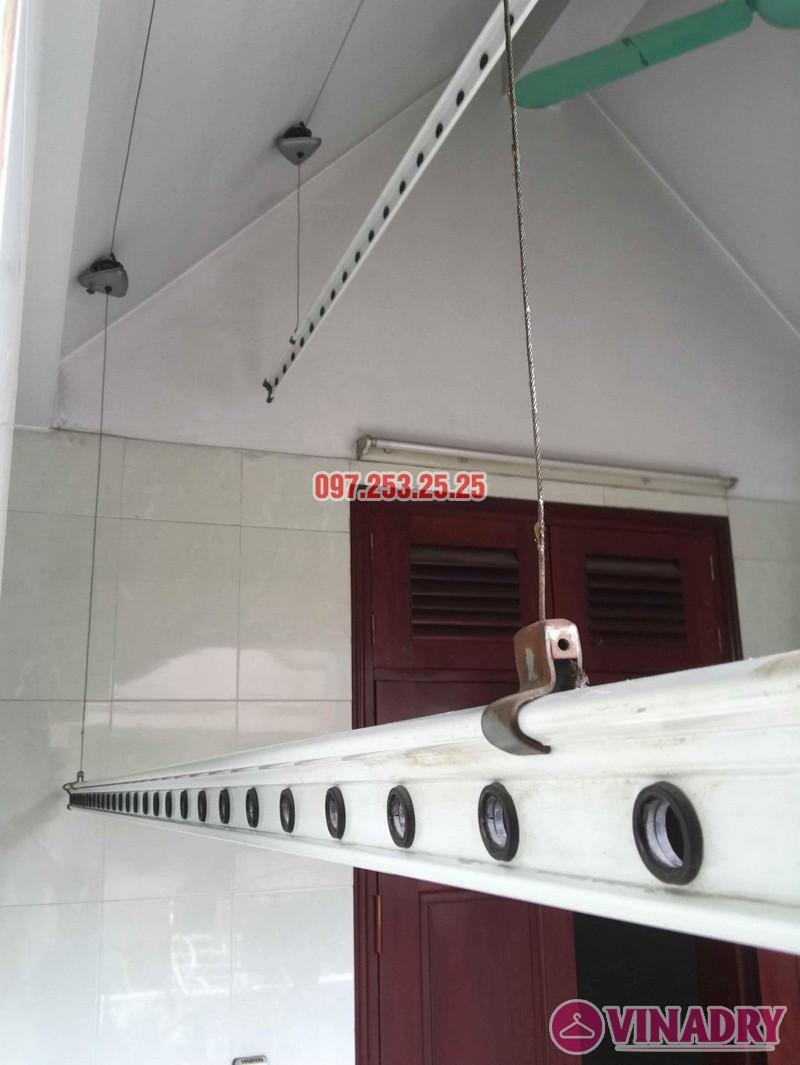 Sửa giàn phơi thông minh tại Tây Hồ nhà chú Thạc, Ngõ 68 An Dương - 02