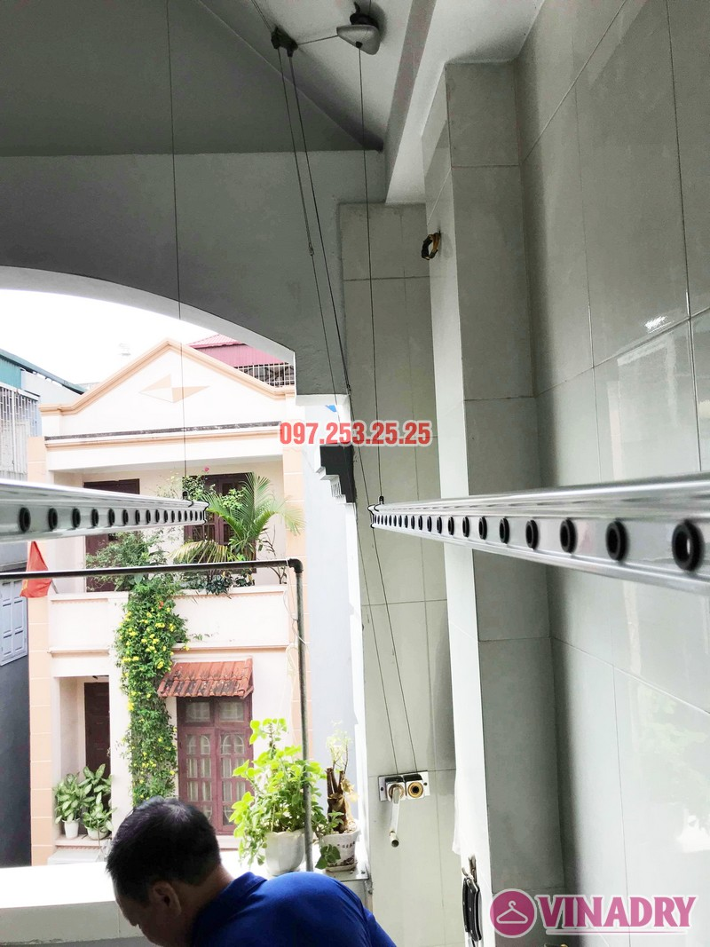 Sửa giàn phơi thông minh tại Tây Hồ nhà chú Thạc, Ngõ 68 An Dương - 07
