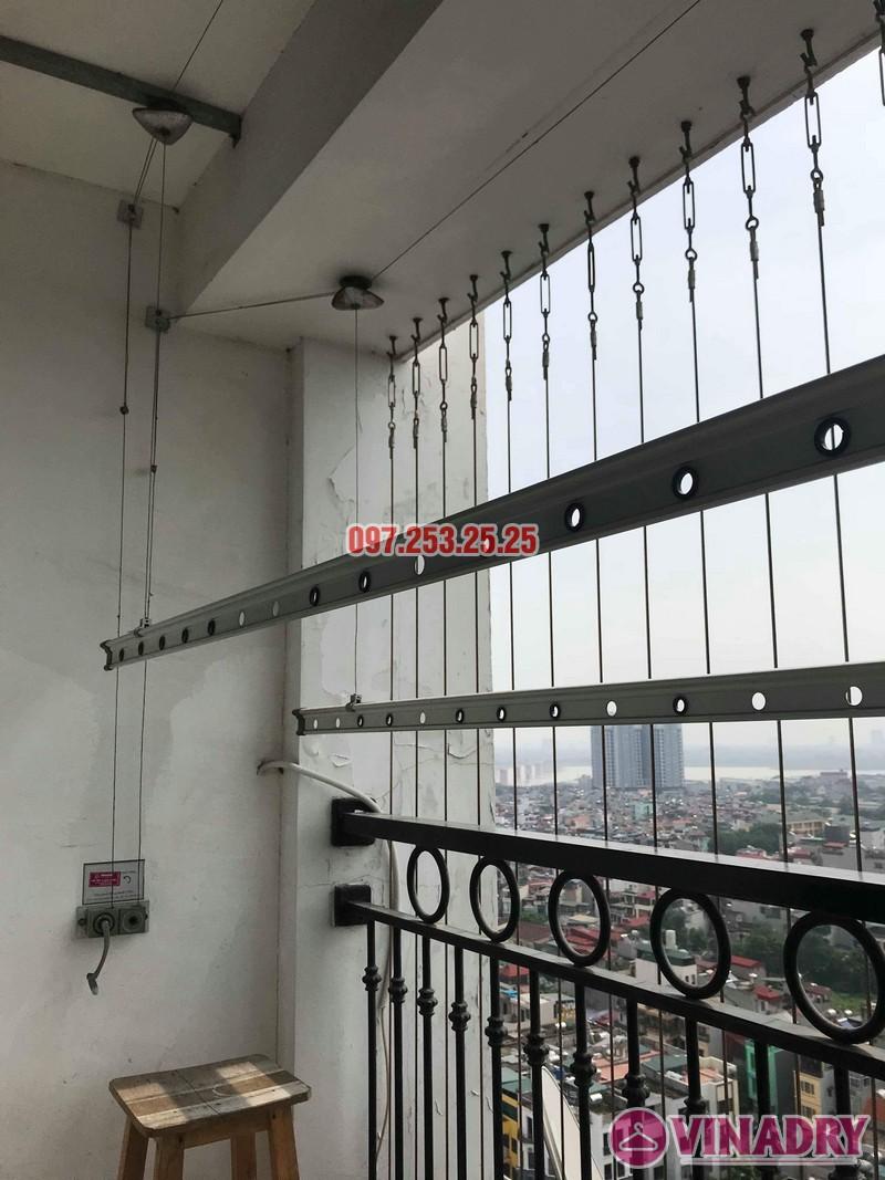 Sửa giàn phơi quần áo nhập khẩu nhà chị Thành, Tòa 8 Times City - 05