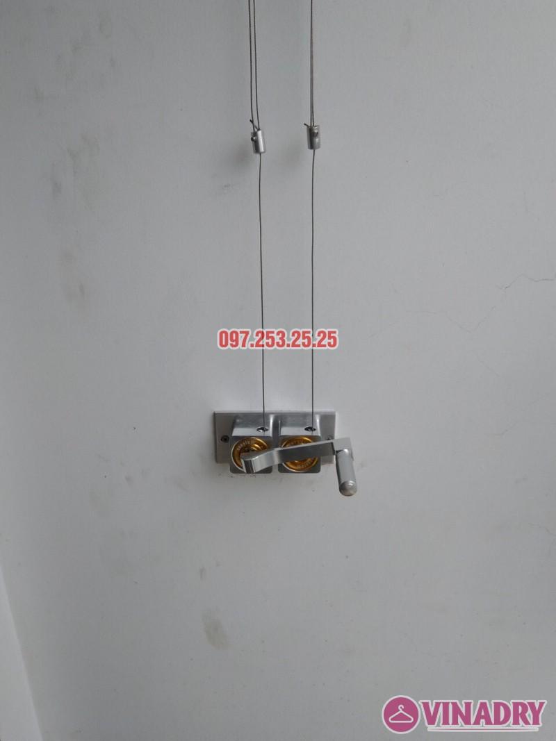 Sửa chữa giàn phơi thông minh tại Times City nhà chị Kiên, Tòa T10 - 04