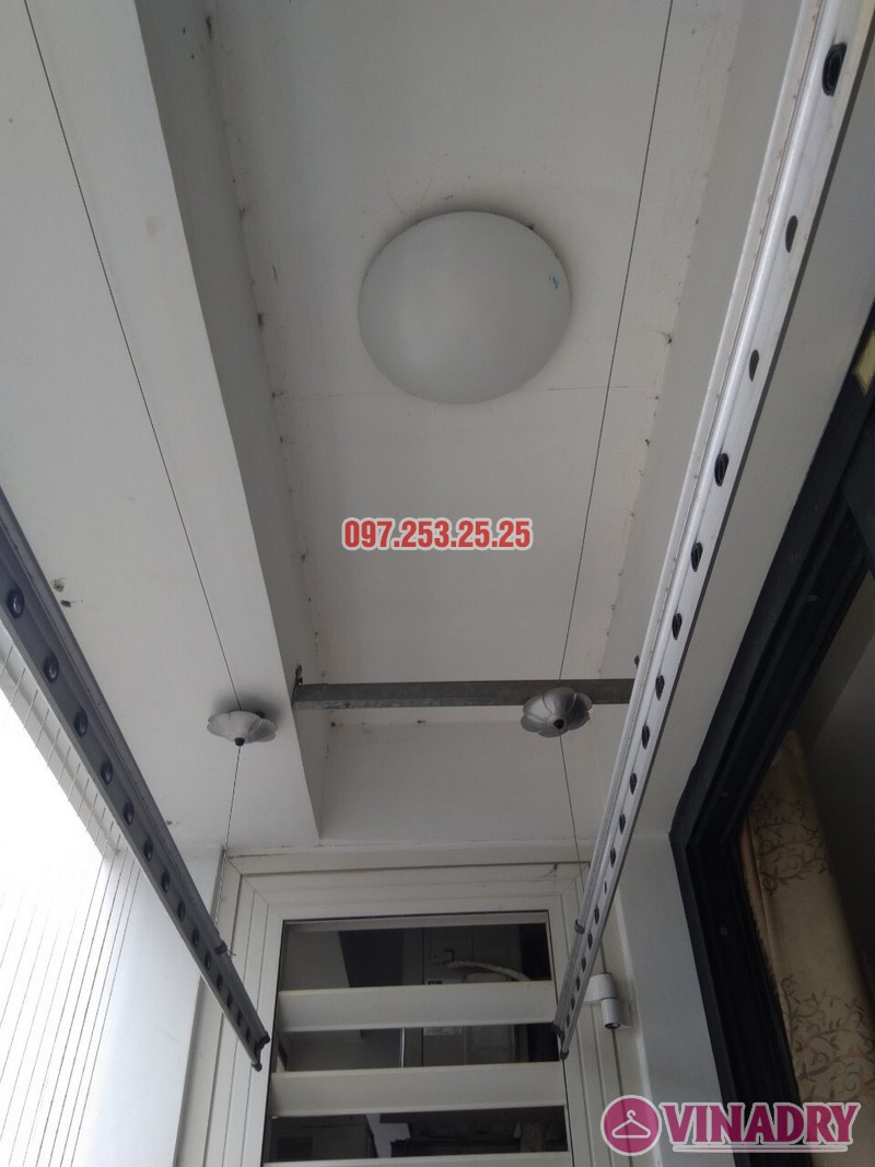 Sửa chữa giàn phơi thông minh tại Times City nhà chị Kiên, Tòa T10 - 07