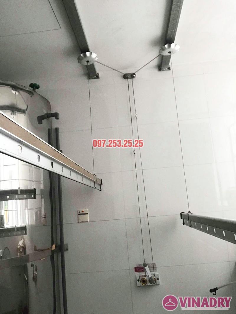 Sửa chữa giàn phơi thông minh tại chung cư VP2 Linh Đàm nhà chị Chi - 03