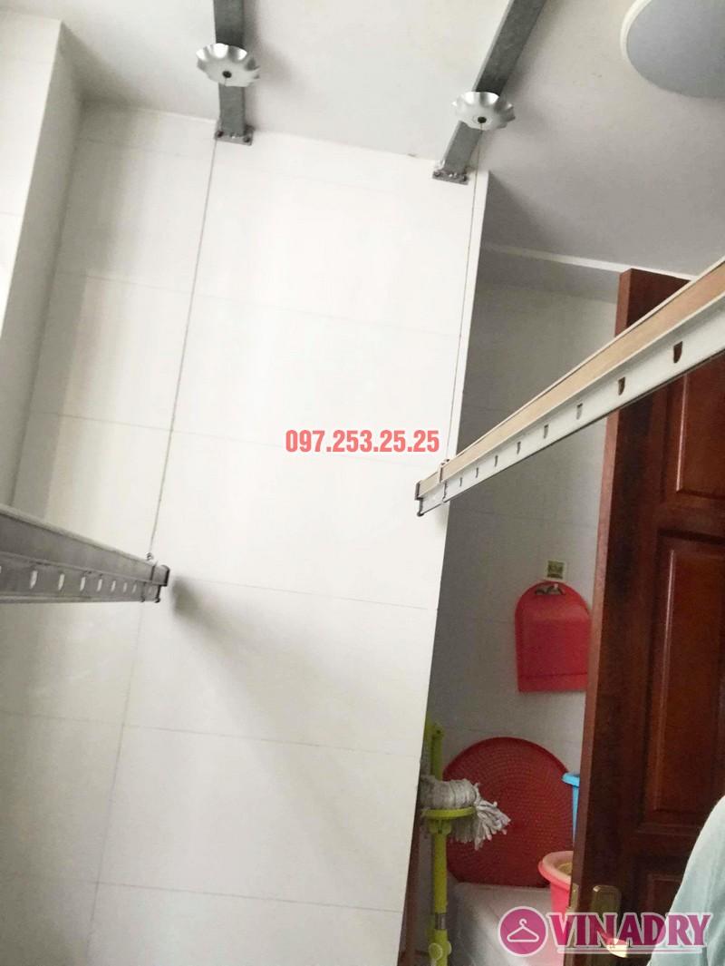 Sửa chữa giàn phơi thông minh tại chung cư VP2 Linh Đàm nhà chị Chi - 04