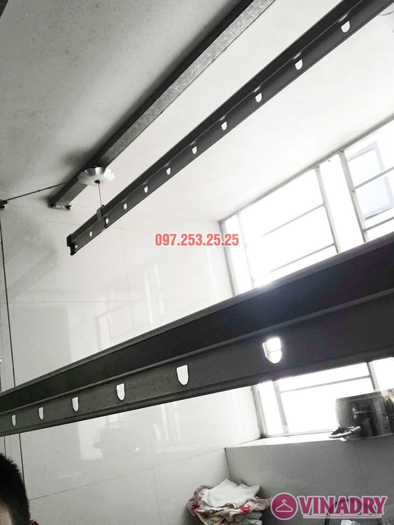 Sửa chữa giàn phơi thông minh tại chung cư VP2 Linh Đàm nhà chị Chi - 05