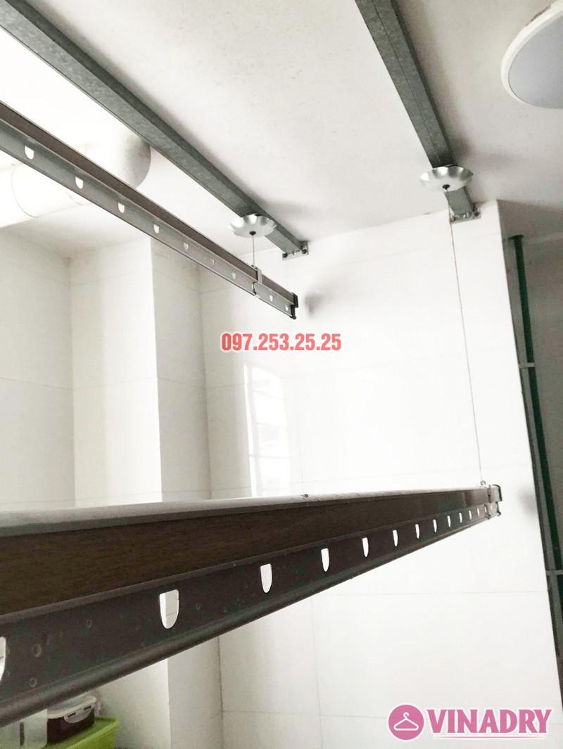 Sửa chữa giàn phơi thông minh tại chung cư VP2 Linh Đàm nhà chị Chi - 06