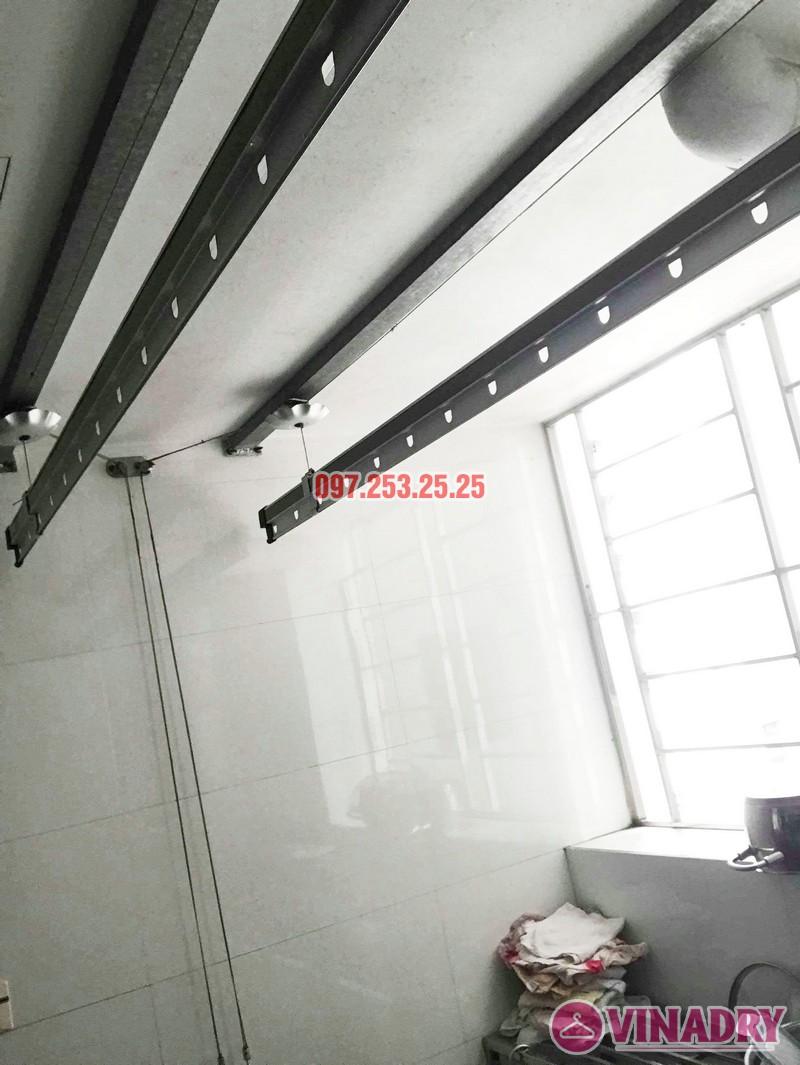 Sửa chữa giàn phơi thông minh tại chung cư VP2 Linh Đàm nhà chị Chi - 07