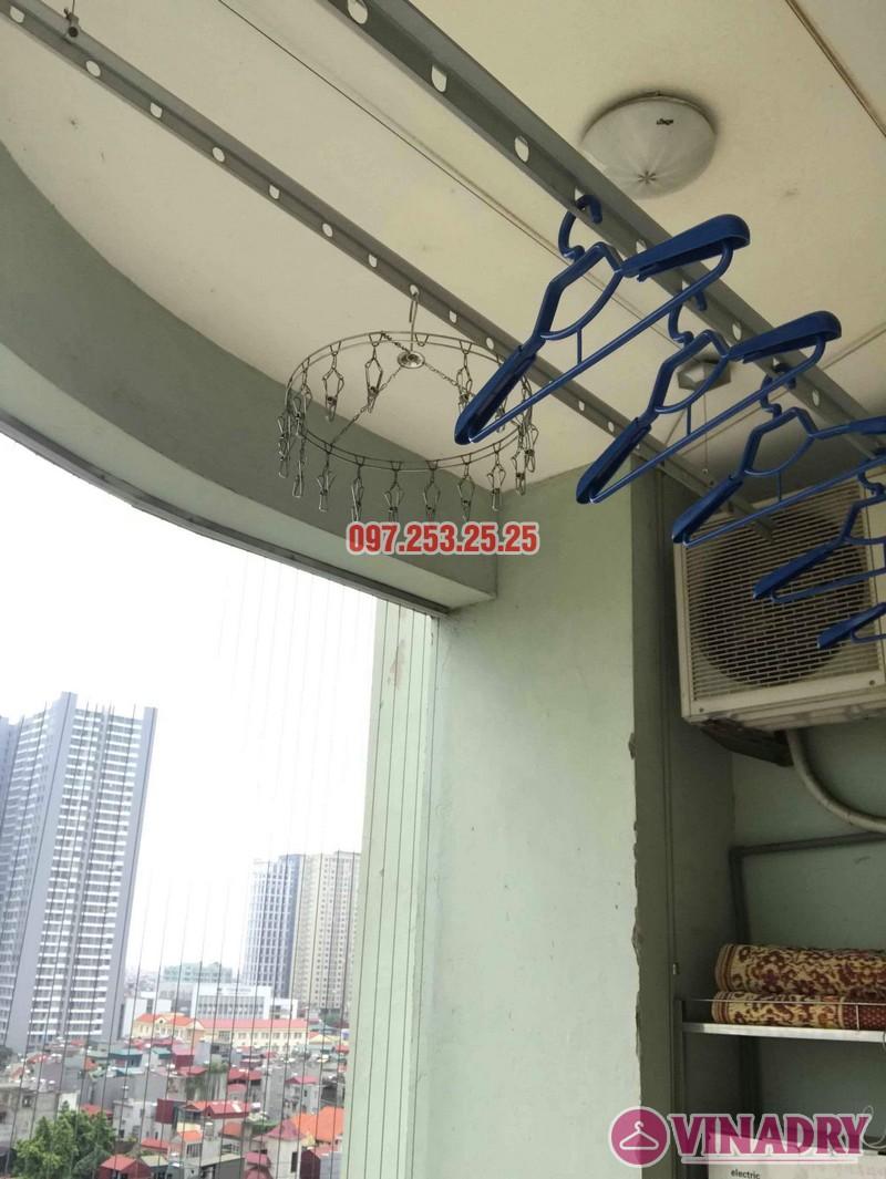Sửa giàn phơi quần áo tại Hoàng Mai nhà chị Hằng, chung cư 18 Tam Trinh - 01