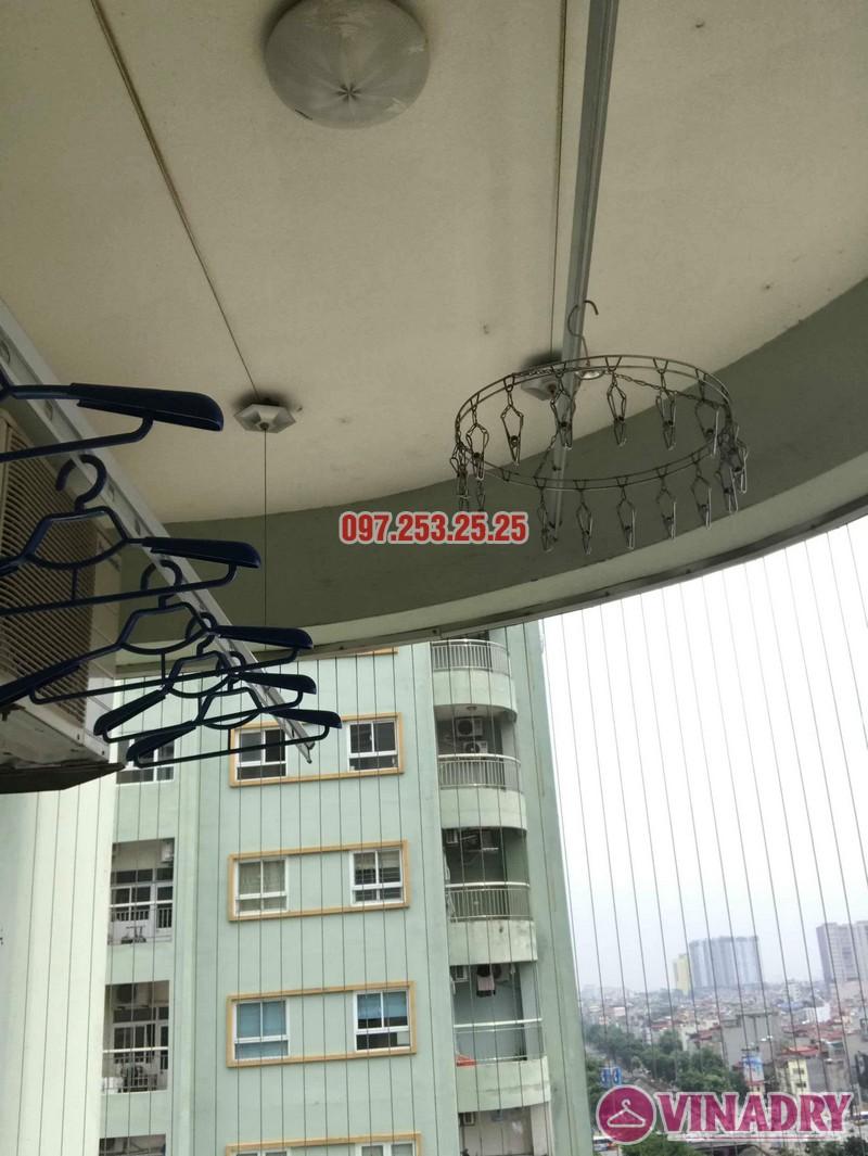 Sửa giàn phơi quần áo tại Hoàng Mai nhà chị Hằng, chung cư 18 Tam Trinh - 02