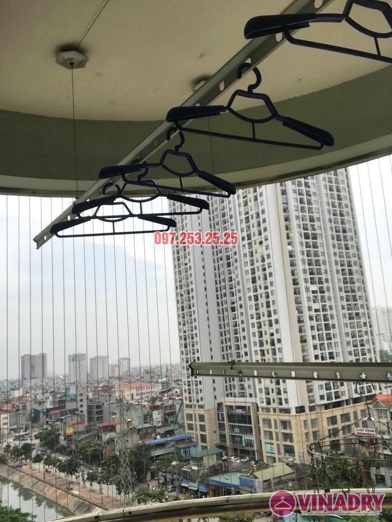 Sửa giàn phơi quần áo tại Hoàng Mai nhà chị Hằng, chung cư 18 Tam Trinh - 04