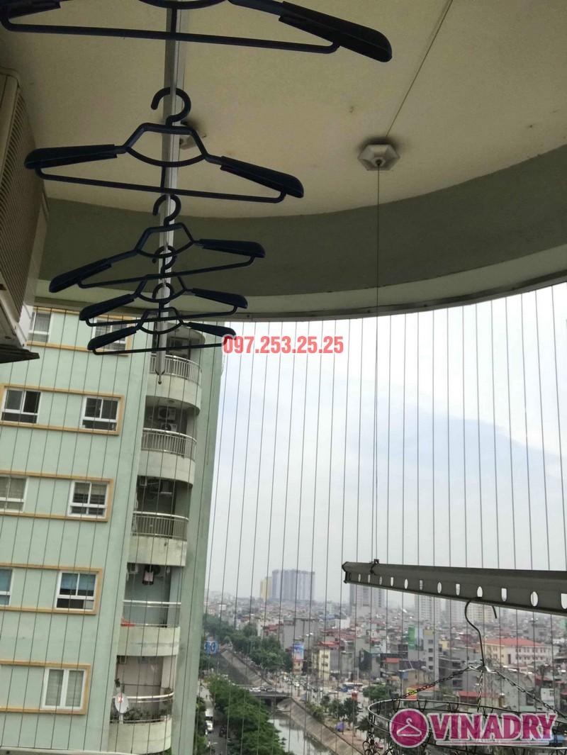 Sửa giàn phơi quần áo tại Hoàng Mai nhà chị Hằng, chung cư 18 Tam Trinh - 06