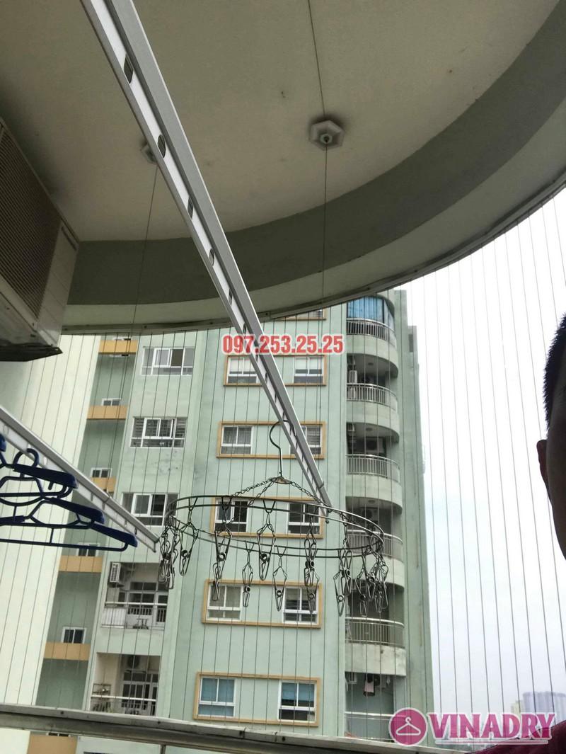 Sửa giàn phơi quần áo tại Hoàng Mai nhà chị Hằng, chung cư 18 Tam Trinh - 07