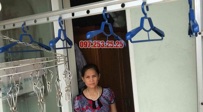 Sửa giàn phơi quần áo tại Hoàng Mai nhà chị Hằng, chung cư 18 Tam Trinh - 08