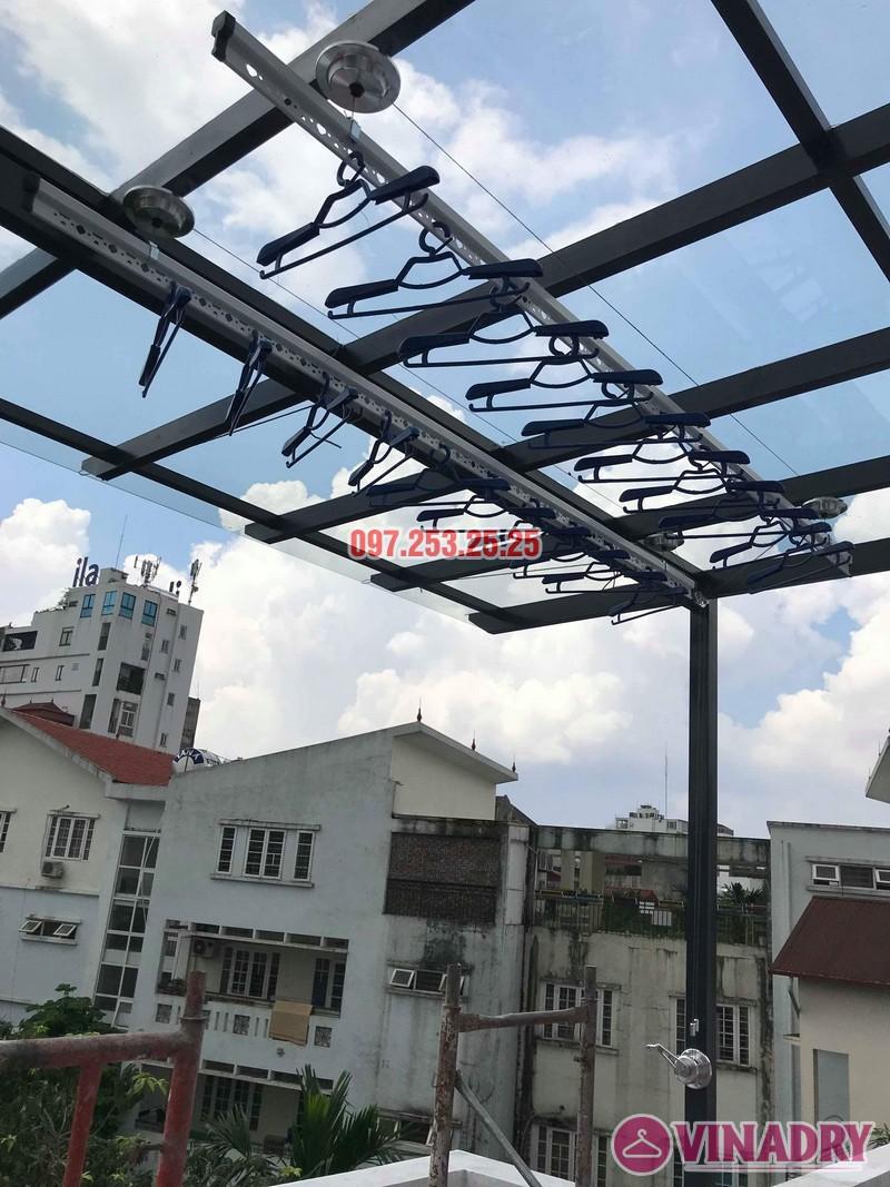 Lắp giàn phơi tại Hà Nội nhà anh Thụy, ngõ 66 Ngọc Lâm, Long Biên - 01