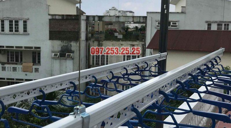 Lắp giàn phơi tại Hà Nội nhà anh Thụy, ngõ 66 Ngọc Lâm, Long Biên - 06