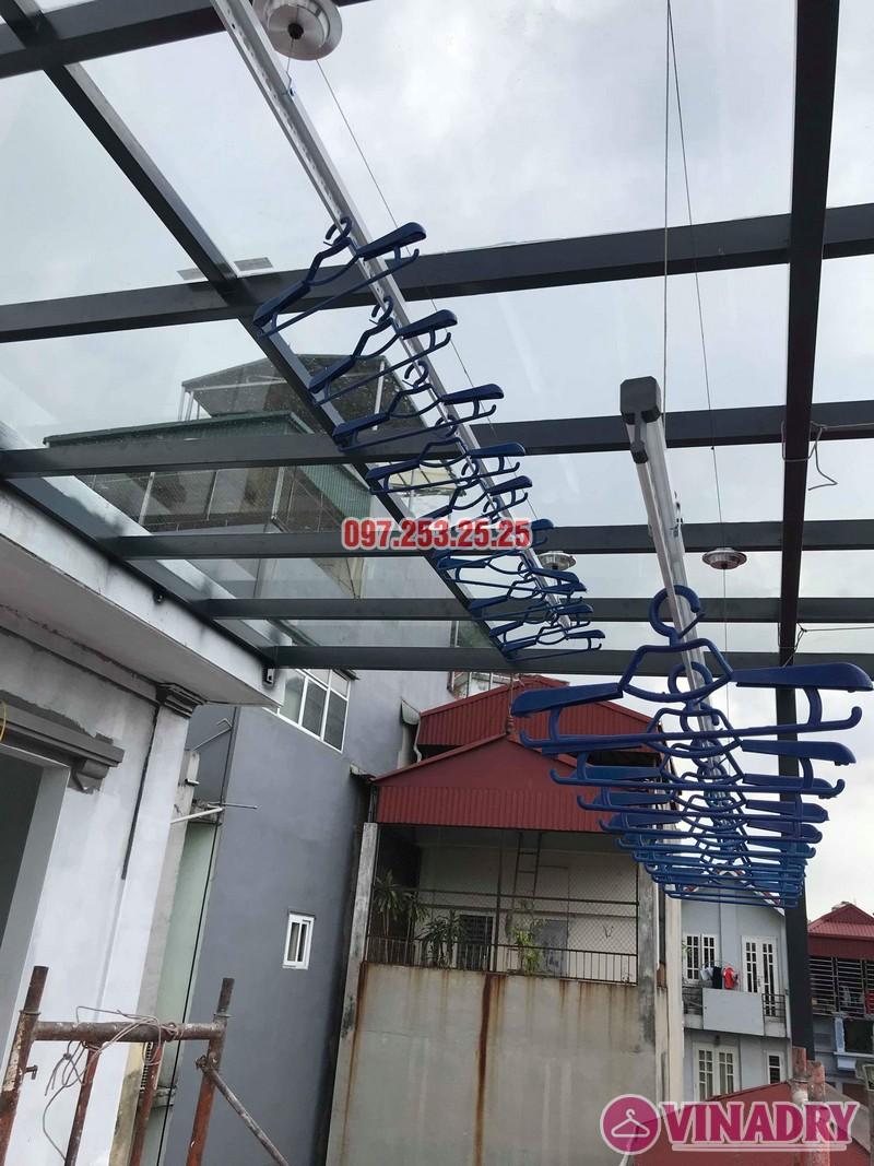 Lắp giàn phơi tại Hà Nội nhà anh Thụy, ngõ 66 Ngọc Lâm, Long Biên - 07