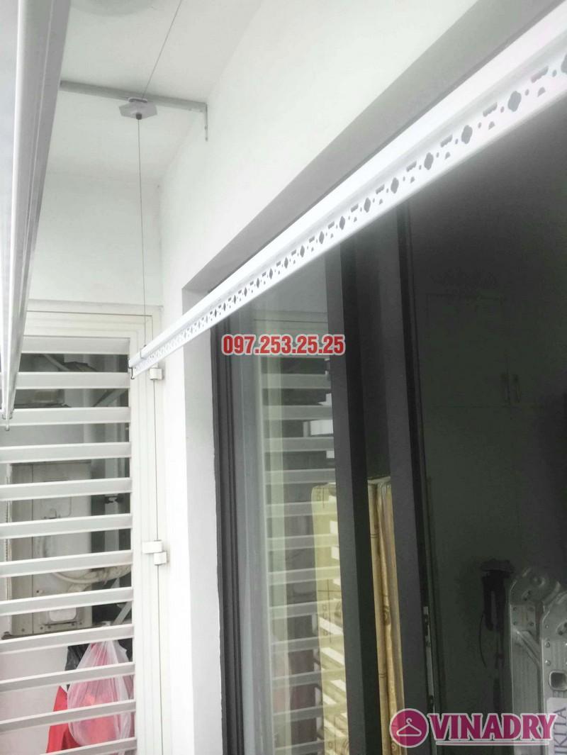 Lắp giàn phơi quần áo tại Times City nhà chị Thảo, Tòa T8 - 02