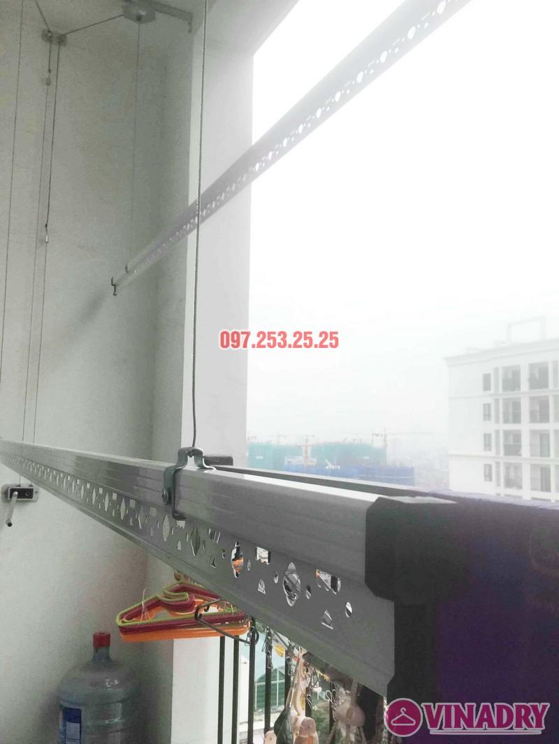 Lắp giàn phơi quần áo tại Times City nhà chị Thảo, Tòa T8 - 03