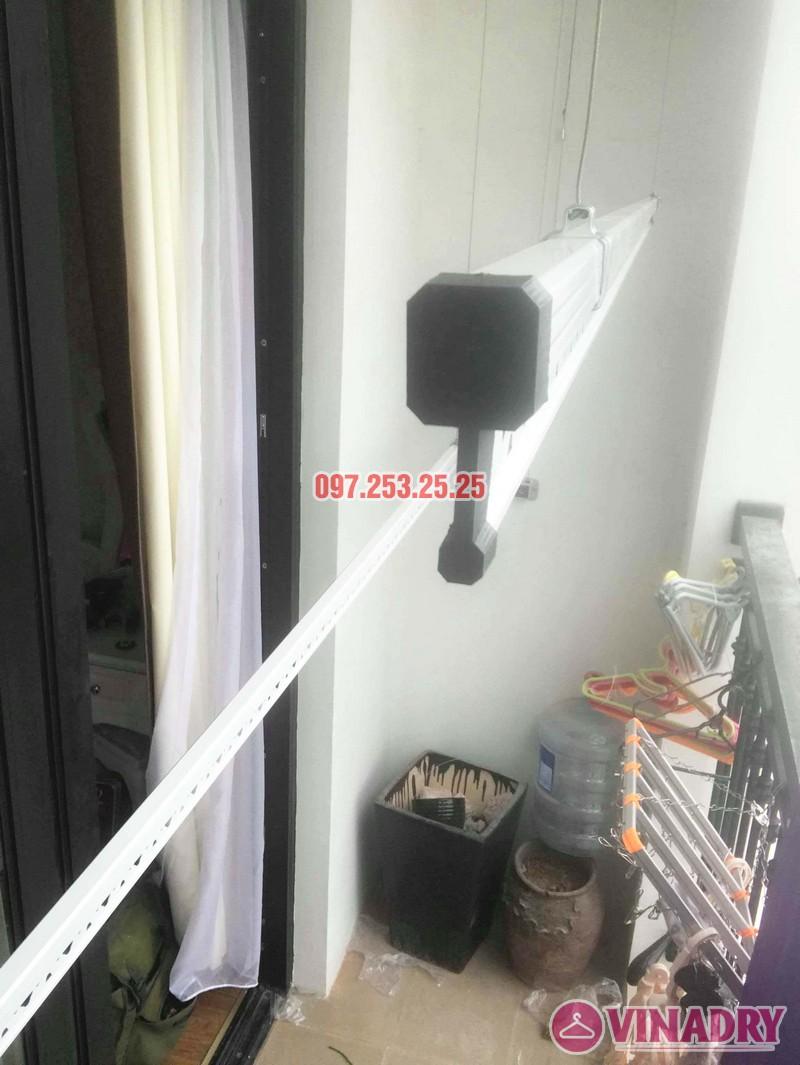 Lắp giàn phơi quần áo tại Times City nhà chị Thảo, Tòa T8 - 05