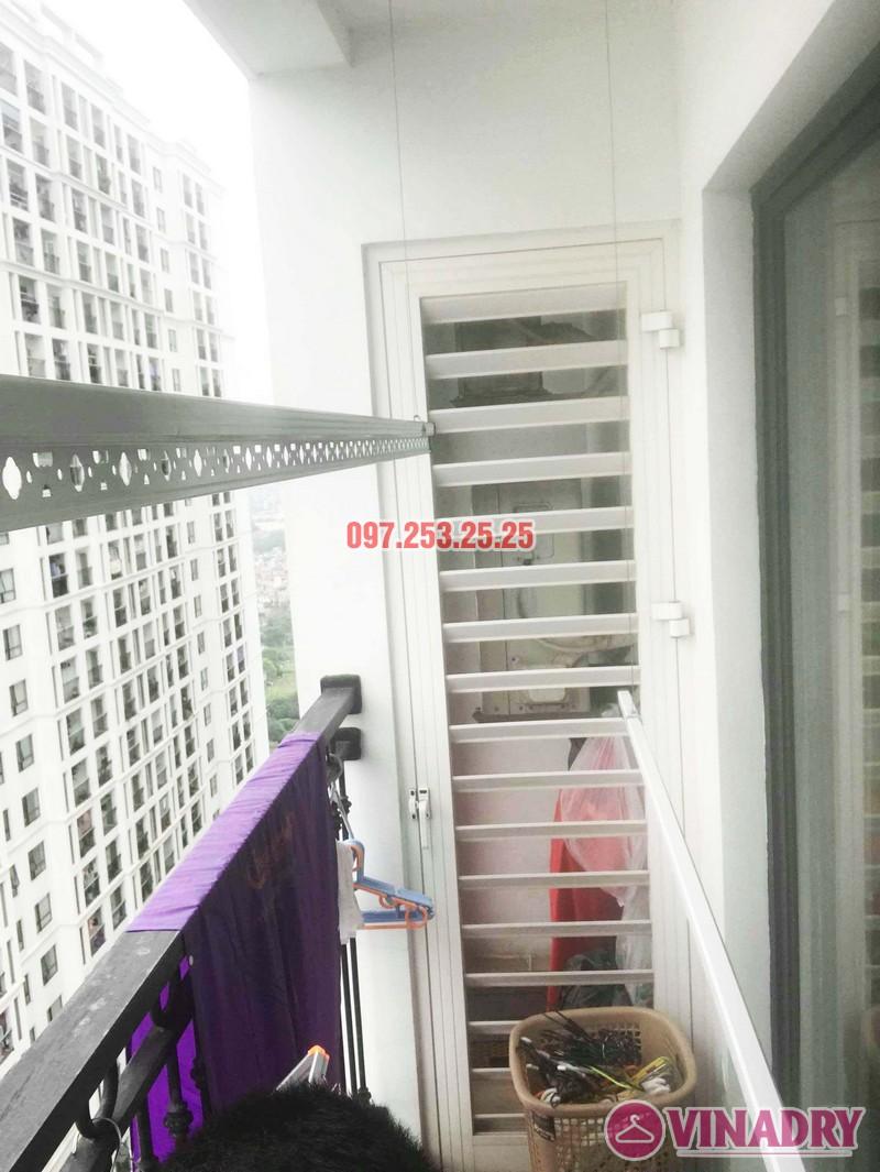 Lắp giàn phơi quần áo tại Times City nhà chị Thảo, Tòa T8 - 07