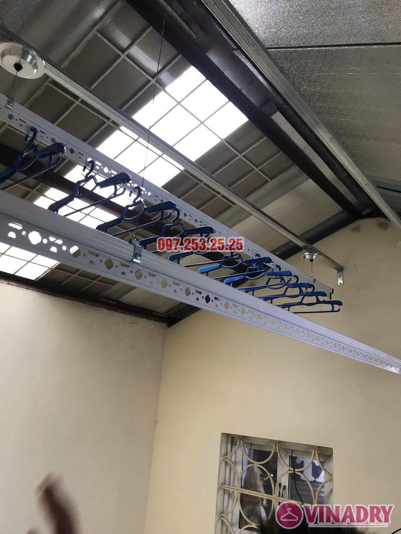 Lắp giàn phơi cho trần mái tôn nhà anh Cảnh, số 38 ngõ 184 Đê Trần Khát Trân, Hà Nội - 07