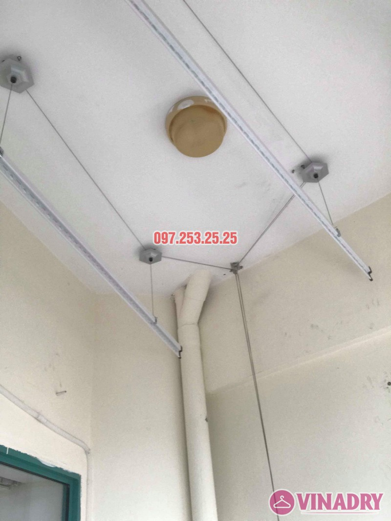 Lắp giàn phơi Ba Đình Hà Nội nhà chị Minh, 673 Hoàng Hoa Thám - 01