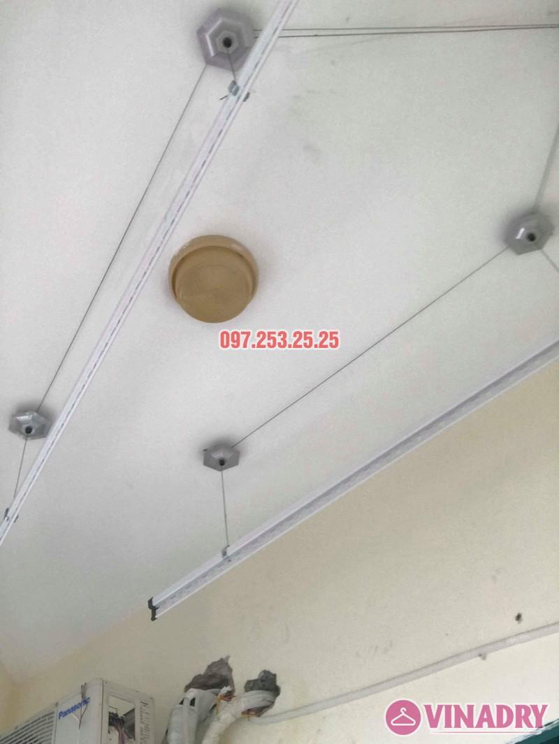 Lắp giàn phơi Ba Đình Hà Nội nhà chị Minh, 673 Hoàng Hoa Thám - 02